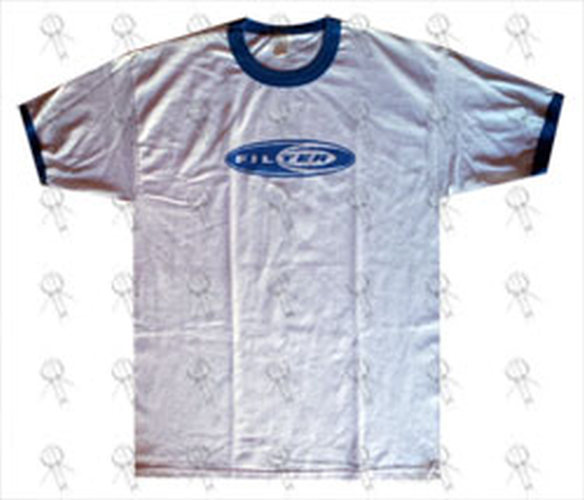 FILTER - Logo Design White Ringer Tee - 1