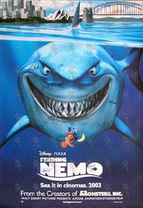 Finding nemo finding nemo movie poster posters regular sizes finding nemo finding nemo movie poster 1 altavistaventures Gallery