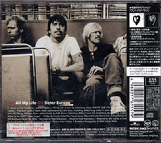 Foo Fighters All My Life Cd Single Ep Rare Records
