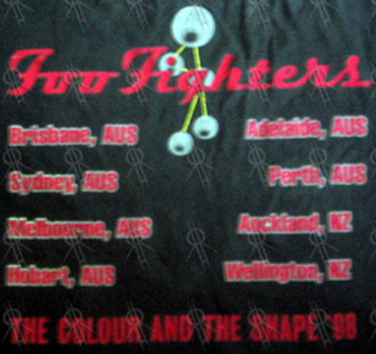 Foo Fighters Black The Colour And The Shape 1998 Oz Nz
