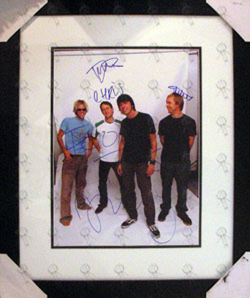 FOO FIGHTERS - Custom Framed 'In Your Honour' Era 16 x 12 Photograph - 1