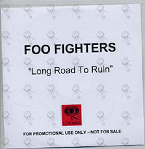 FOO FIGHTERS - Long Road To Ruin - 1