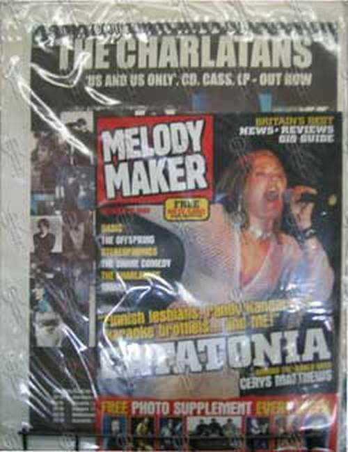 FOO FIGHTERS - 'Melody Maker' - October 23rd 1999 - Dave Grohl On Cover - 2