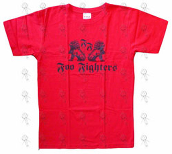 Foo Fighters Red In Your Honor Design Tour T Shirt