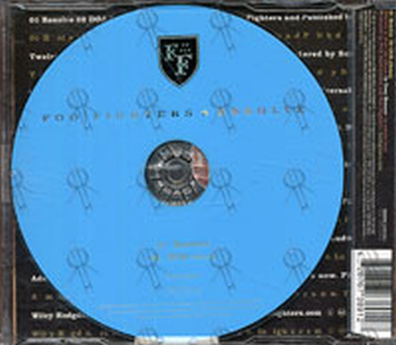 Foo Fighters Resolve Cd Single Ep Rare Records