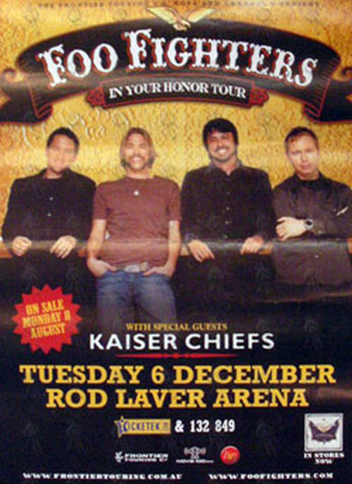 FOO FIGHTERS - Rod Laver Arena