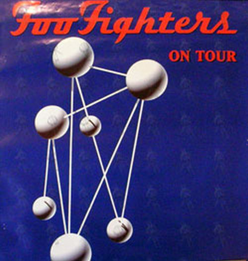 Foo Fighters The Colour And The Shape Era Tour Poster