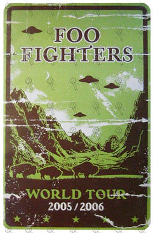 Foo Fighters World Tour 2005 2006 Poster Posters