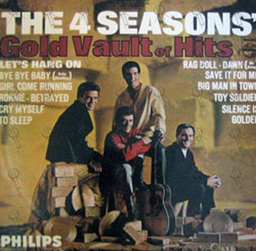 FOUR SEASONS-- THE - Gold Vault Of Hits - 1