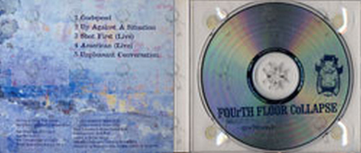 Fourth floor collapse godspeed cd single ep rare for Fourth floor records