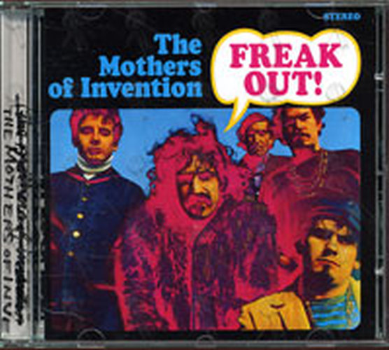 FRANK ZAPPA & THE MOTHERS OF INVENTION - Freak Out! - 1