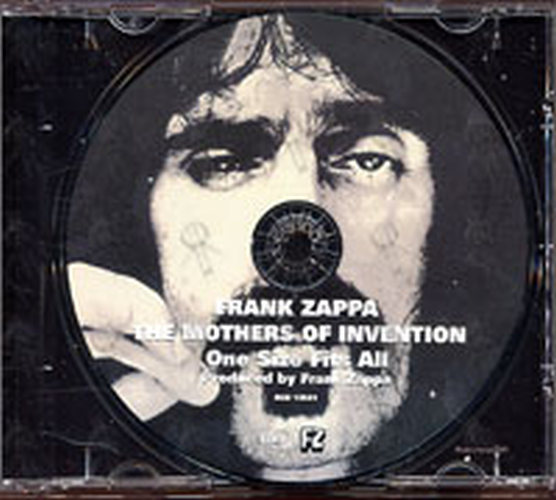 Frank Zappa Amp The Mothers Of Invention One Size Fits All