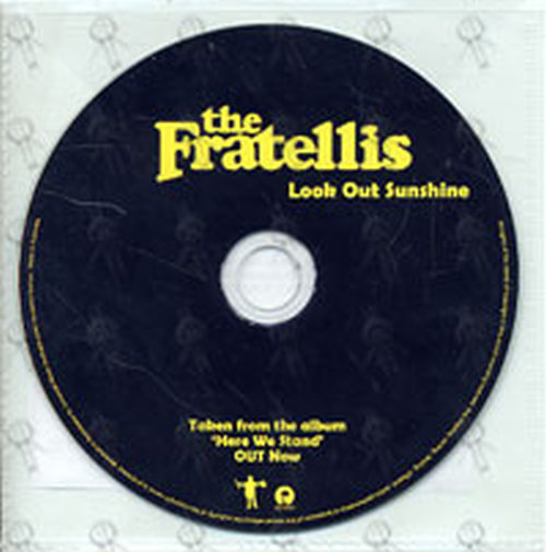 FRATELLIS-- THE - Look Out Sunshine - 1