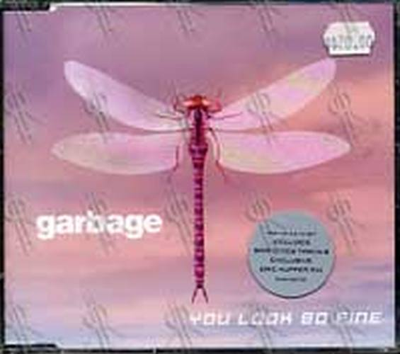 GARBAGE - You Look So Fine (Part 1 of a 2CD Set) - 1