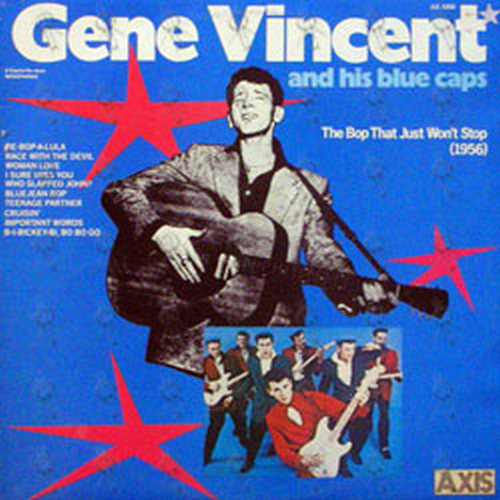 GENE VINCENT AND HIS BLUE CAPS - The Bop That Just Won't Stop (1956) - 1