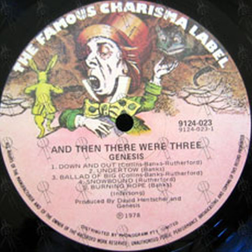 GENESIS - ... And Then There Were Three ... - 2