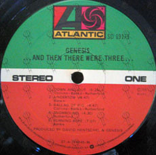 GENESIS - ... And Then There Were Three ... - 4