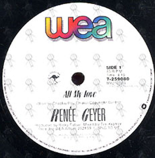 GEYER-- RENEE - All My Love - 3