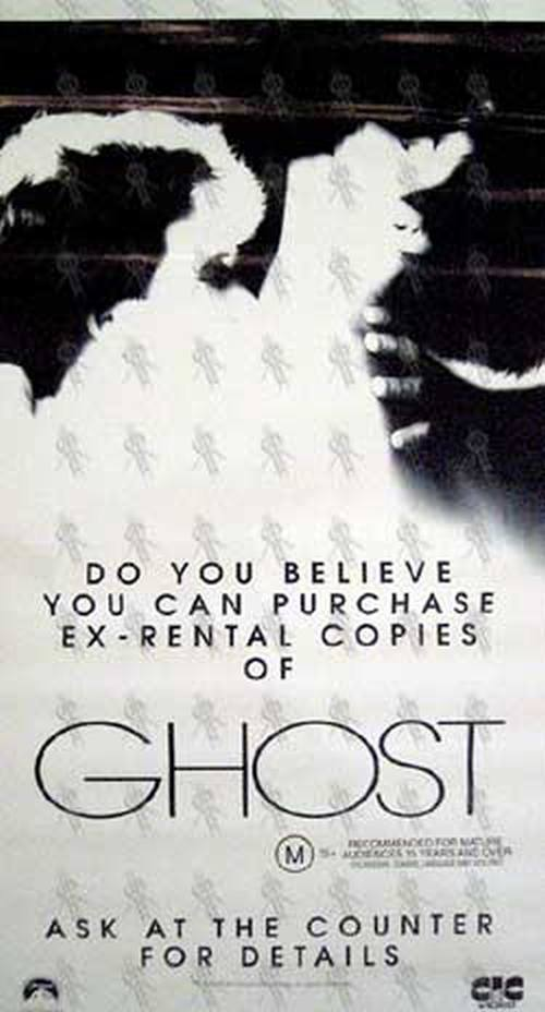 GHOST - 'Ghost' Video Store Poster - 1