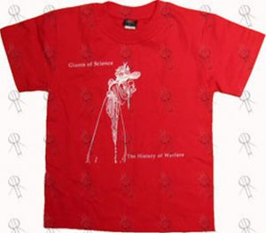 Red  History Of Warfare  World Tour T-Shirt 05a36a93f