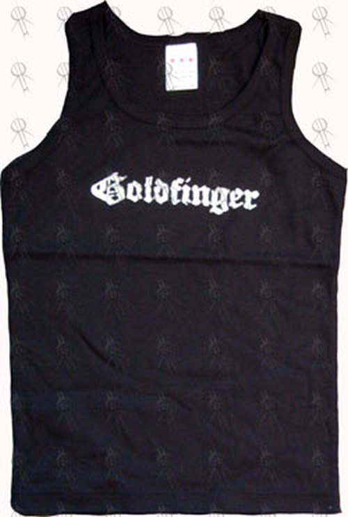 GOLDFINGER - Black Girls' Singlet - 1