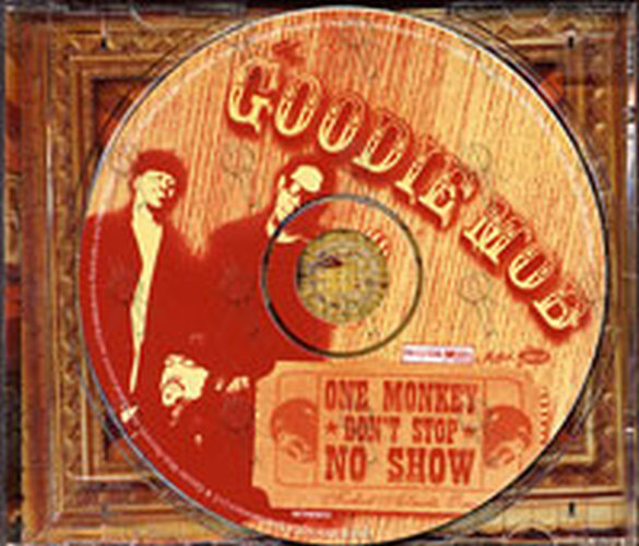 Goodie Mob The One Monkey Dont Stop No Show Album Cd Rare
