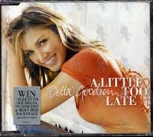 Goodrem Delta Delta Album Cd Rare Records