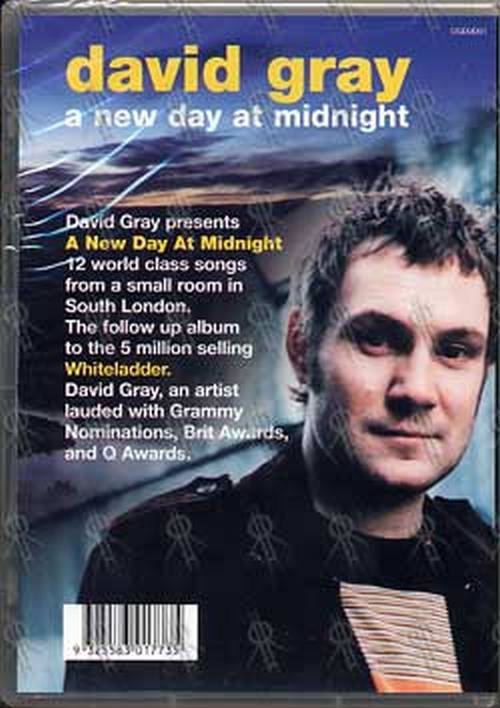 GRAY-- DAVID - 'A New Day At Midnight' EPK - 2