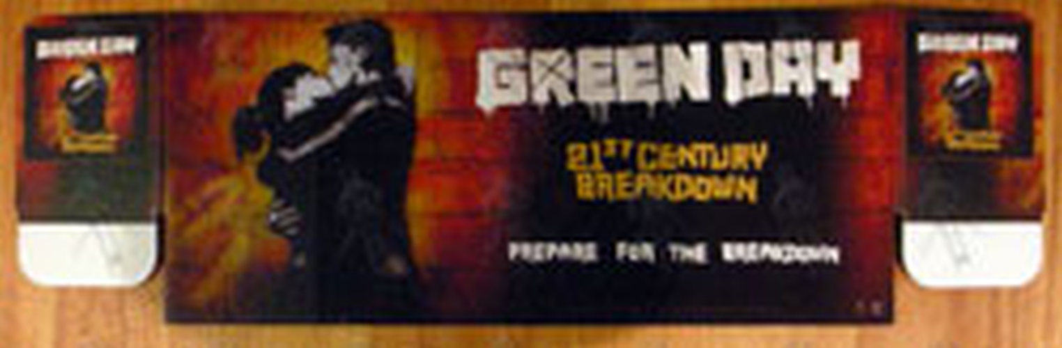 GREEN DAY - '21st Century Breakdown' CD Dump Bin Display - 1