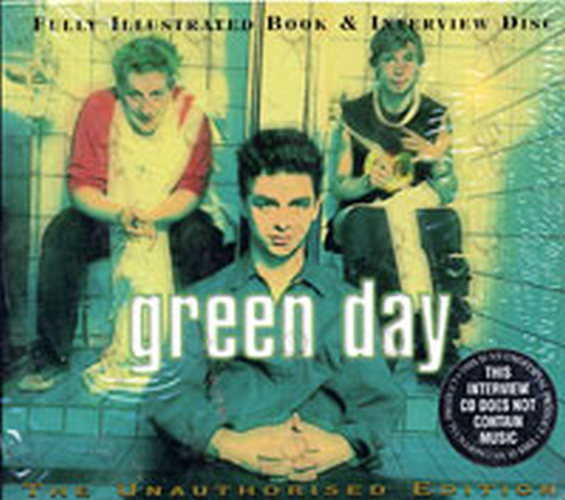 GREEN DAY - Fully Illustrated Book & Interview Disc - 1