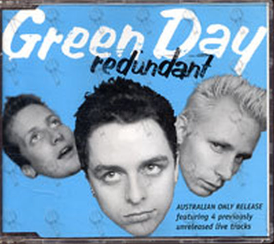 GREEN DAY - Redundant (AUS Only Release) - 1