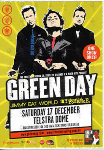 GREEN DAY - Saturday 17 December