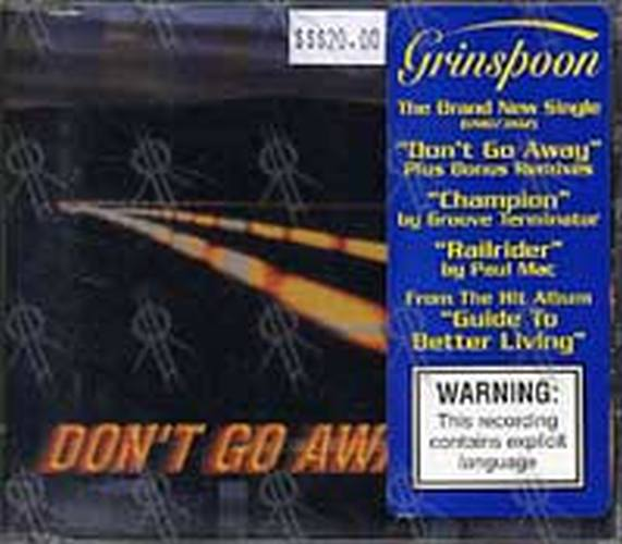 GRINSPOON - Don't Go Away - 1