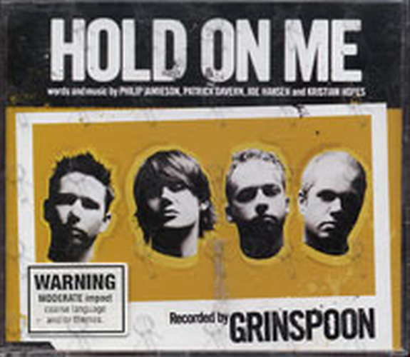 GRINSPOON - Hold On Me - 1