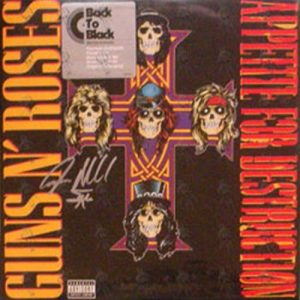 GUNS N ROSES - Appetite For Destruction - 1