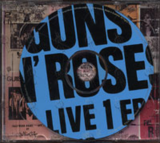 guns n roses live era 8793 album cd rare records