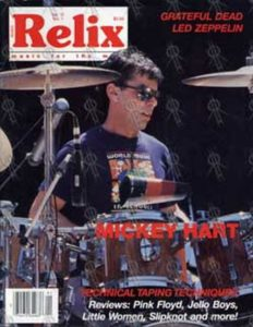 HART-- MICKEY - 'Relix' - 1988 - Mickey Hart On Cover - 1