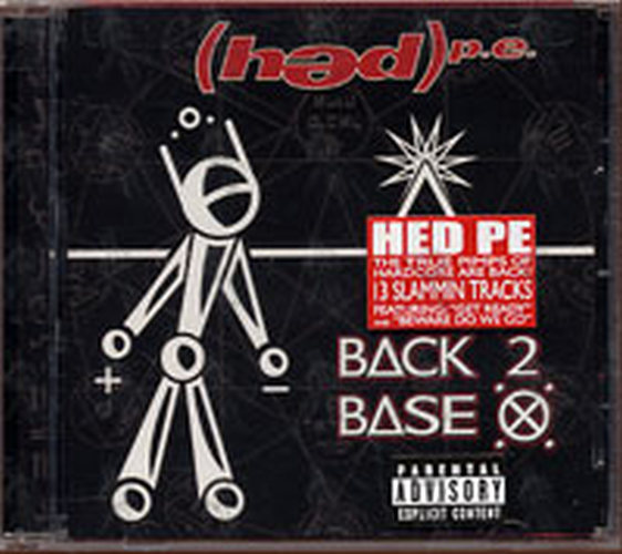 Hed Pe Back 2 Base X Album Cd Rare Records