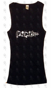 HED PE - Black Logo Girls Singlet - 1