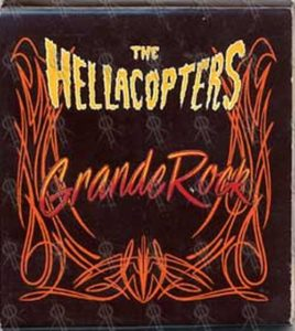 HELLACOPTERS-- THE - 'Grande Rock' Match Book - 1