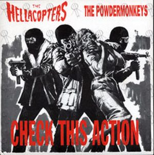 HELLACOPTERS-- THE|POWDERMONKEYS-- THE - Check This Action - 1