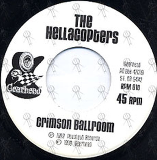 HELLACOPTERS-- THE|ROCKET FROM THE CRYPT - Crimson Ballroom / Delorean - 4