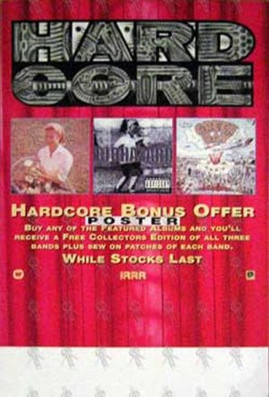 HELMET|BIOHAZARD|GREEN DAY - 'Hard Core' Bonus Offer Record Store Promo Display - 1