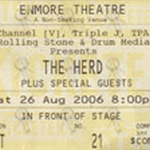 HERD-- THE - Enmore Theatre
