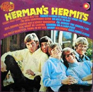 HERMAN'S HERMITS - The Most Of Herman's Hermits - 1