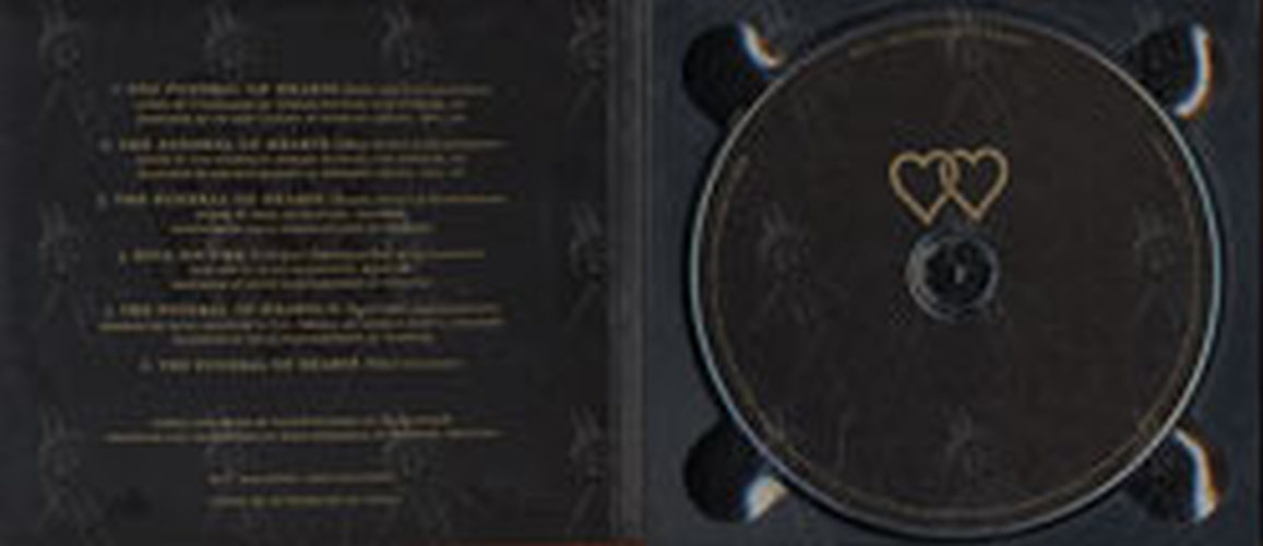 CDS DIGIPACK 6 TRAKs HIM THE FUNERAL OF HEARTS SEALED MINT
