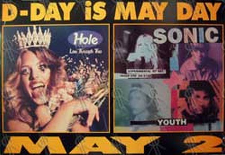 HOLE SONIC YOUTH - 'Live Through This' & 'Experimental Jet Set