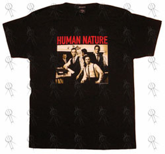 HUMAN NATURE - Black 'Motown Album' 2006 Australian Tour T-Shirt - 1