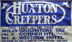 HUXTON CREEPERS - Victorian Tour - June 1988 - 1