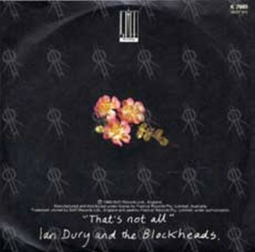 Ian dury and the blockheads i want to be straight 7 inch vinyl ian dury and the blockheads i want to be straight 2 solutioingenieria Choice Image